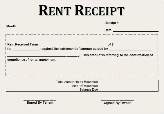 Rental Receipt Template Doc Inspirational Print Rent Receipt form Rental Receipt Template Doc Wcc