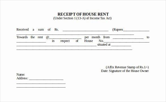 Rental Receipt Template Doc Lovely 35 Rental Receipt Templates Doc Pdf Excel
