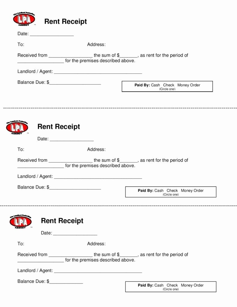 Rental Receipt Template Free Awesome 10 Business Receipt Templates to Use
