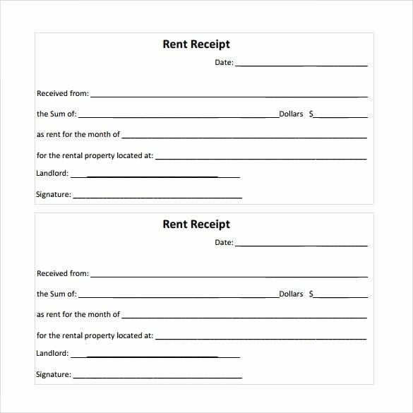 Rental Receipt Template Free Awesome Rent Receipt Templates Find Word Templates