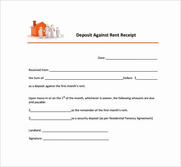 Rental Receipt Template Pdf Fresh 15 Rent Receipt Templates Doc Pdf