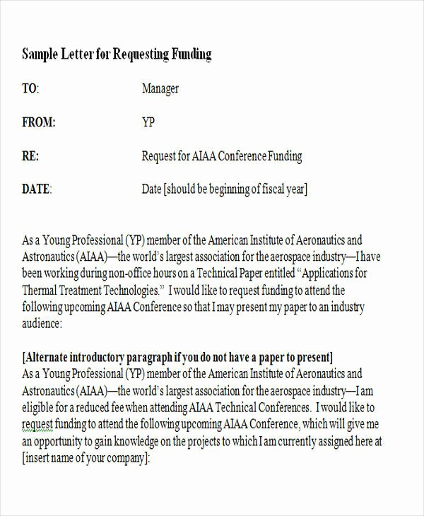 Request for Funds Letter Awesome 38 Service Letter formats