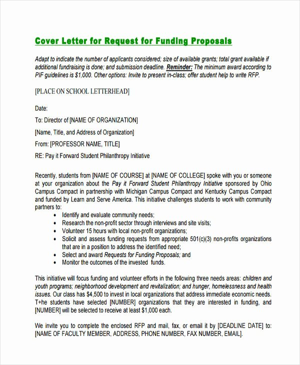 Request for Funds Letter New 53 Proposal Templates and Examples Pdf Word Pages
