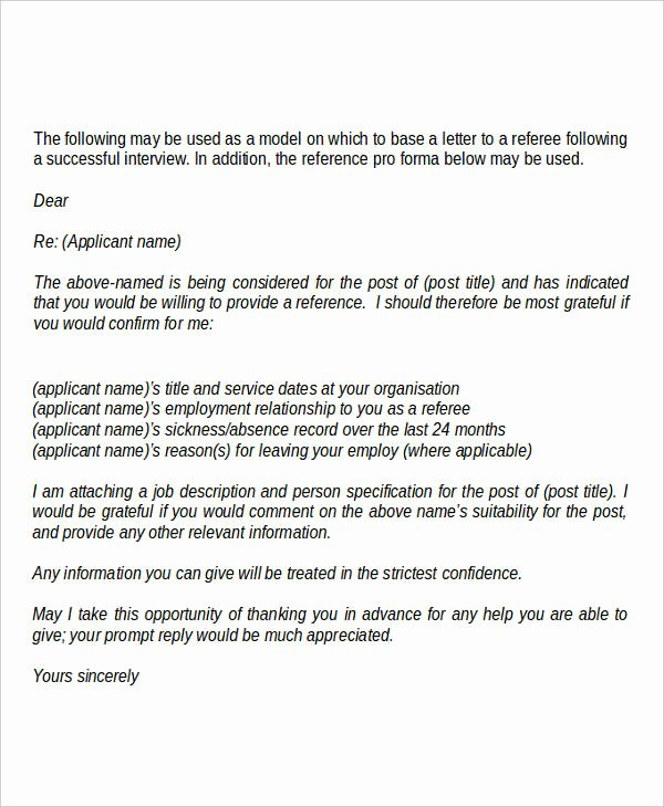 Request for Recommendation Letter Sample Luxury 18 Request Letter Templates Pdf Doc