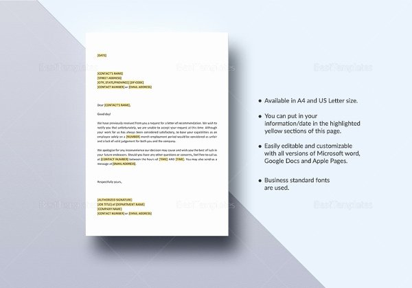 Request Letter Of Recommendation Template Beautiful Request Letter Templates 11 Free Sample Example format