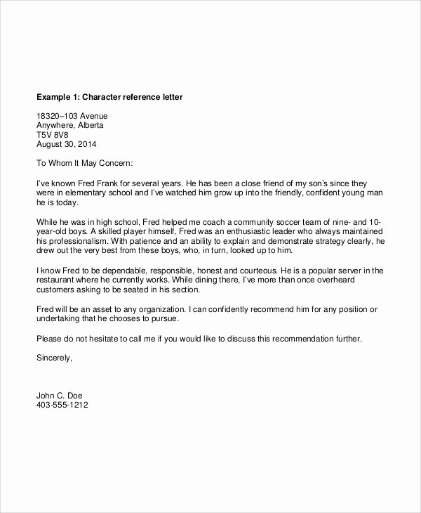 Request Letter Of Recommendation Template Inspirational Sample Reference Request Letters 8 Examples In Pdf Word