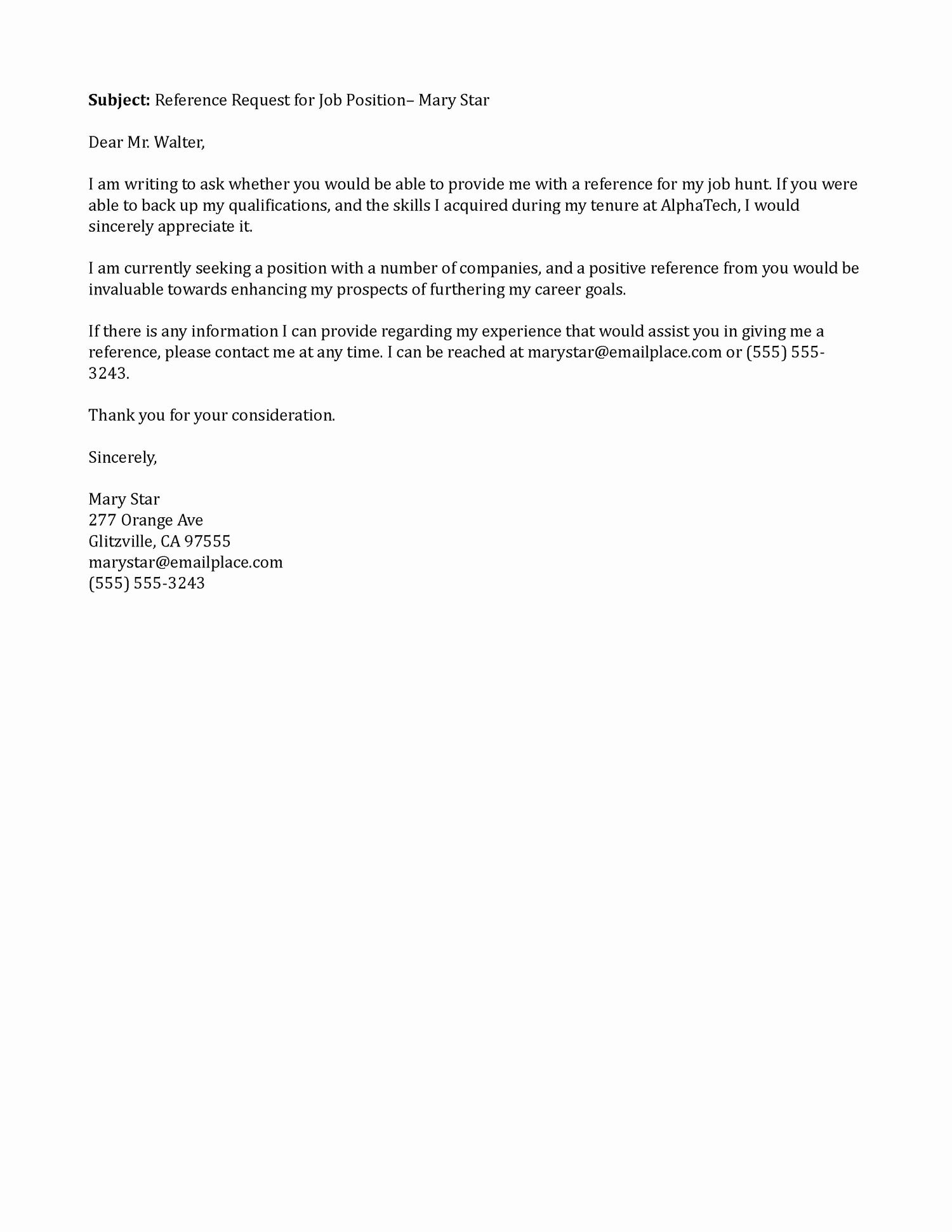 Request Letter Of Recommendation Template Unique Best S Of Sample Email Request Letter Email Request
