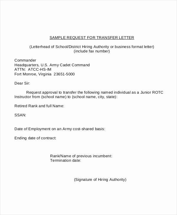 Request Letter Sample format Inspirational formal Letter Sample Template 70 Free Word Pdf