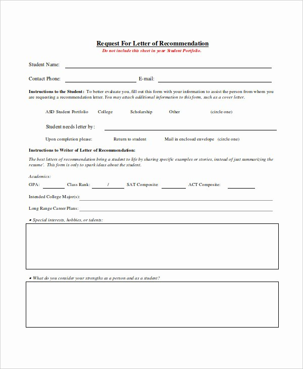 Requesting for Letter Of Recommendation Unique 18 Request Letter Templates Pdf Doc