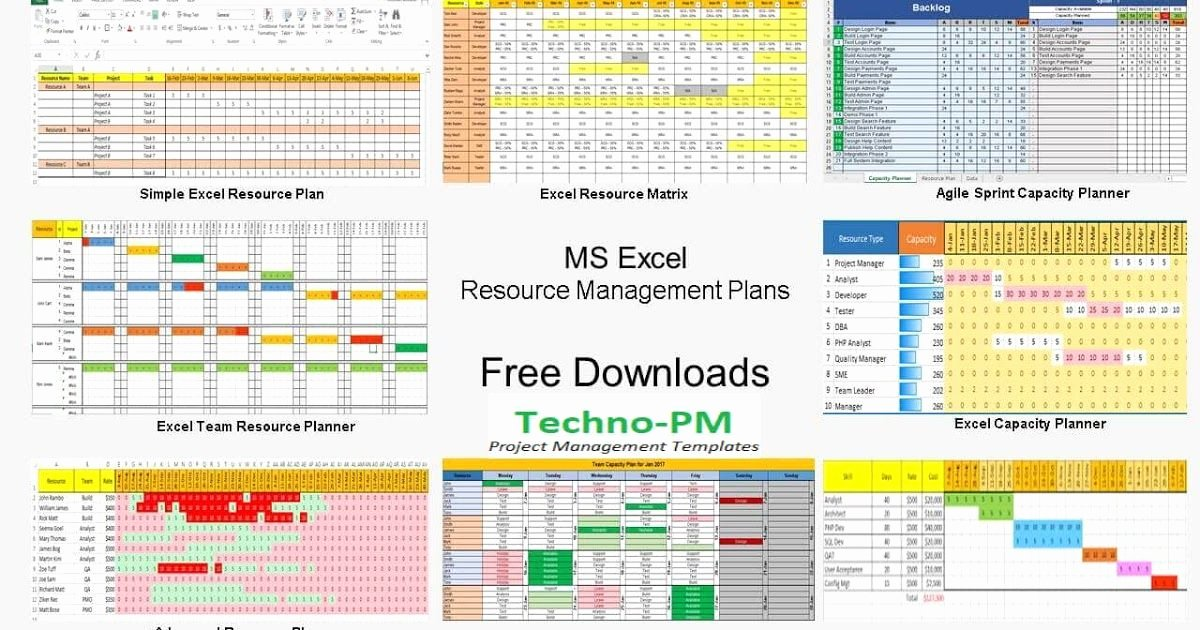 Resource Capacity Plan Template Elegant 7 Best Practices when Managing Resources for Multiple