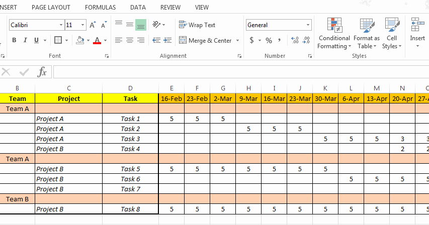 Resource Plan Template Excel Beautiful Excel Based Resource Plan Template Free Free Project