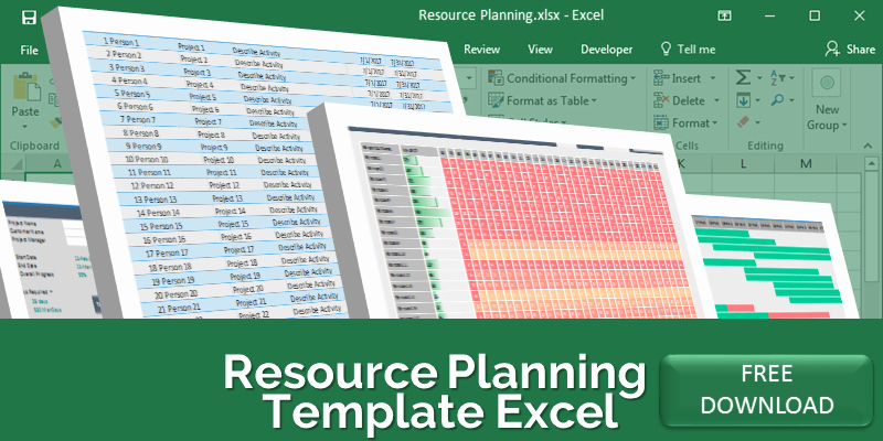 Resource Plan Template Excel Inspirational Project Resource Planning Template Excel Free Download