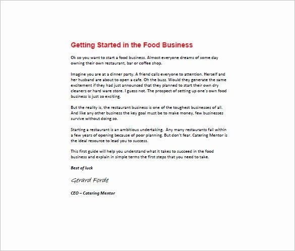 Restaurant Business Plan Template Inspirational Startup Business Plan Template 19 Word Excel Pdf