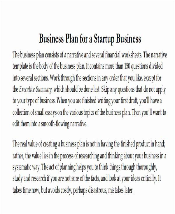 Restaurant Business Plan Template Luxury 8 Sample Restaurant Business Plan Examples In Word Pdf