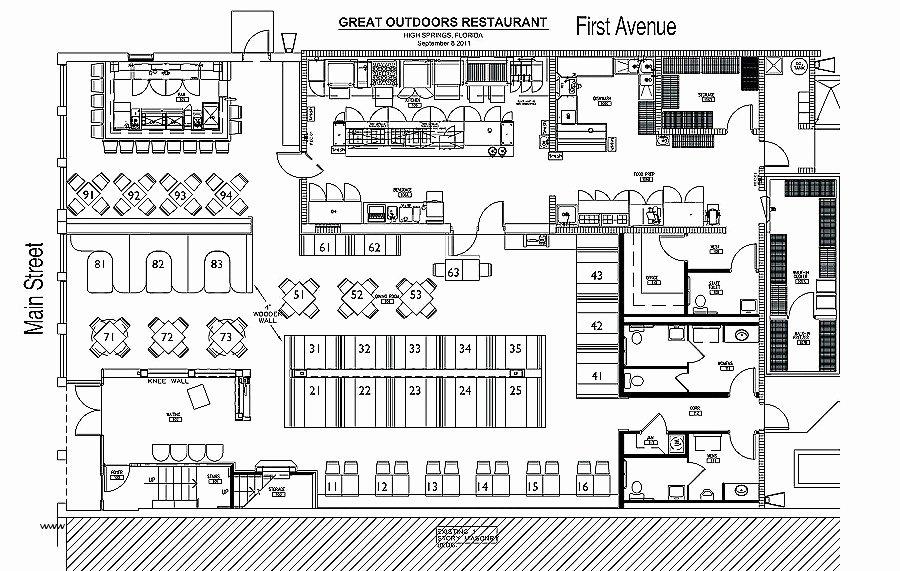 Restaurant Floor Plan Template Beautiful Oconnorhomesinc