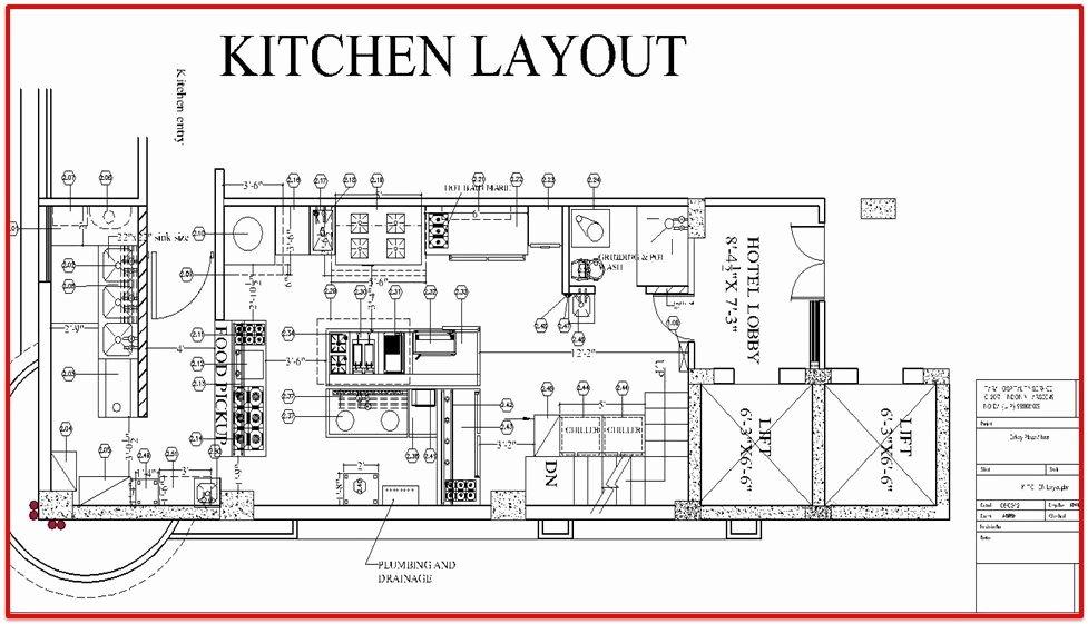 Restaurant Floor Plan Template Beautiful Restaurant Kitchen Layout Plan Sawdegh Pinterest