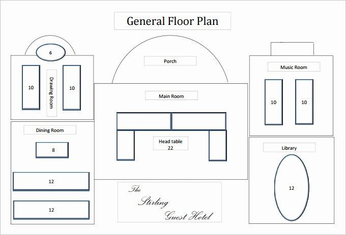 Restaurant Floor Plan Template Best Of Floor Plan Templates 20 Free Word Excel Pdf Documents