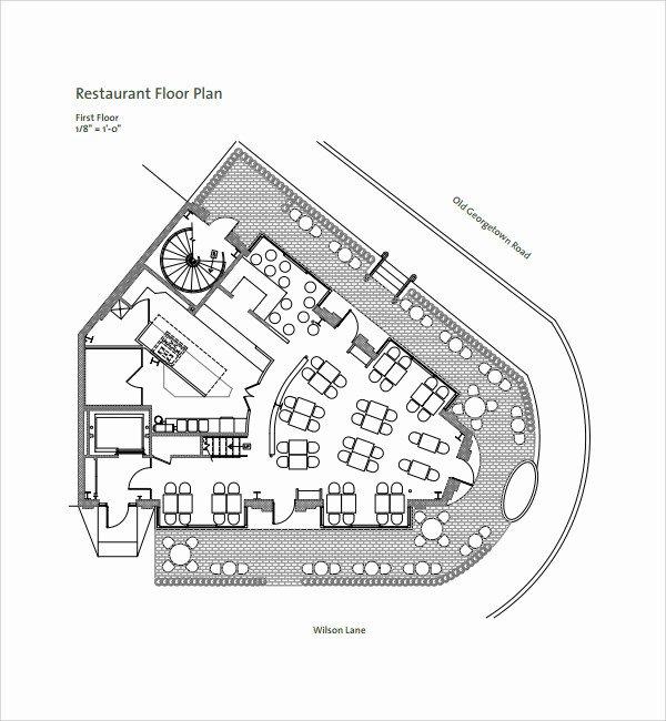 Restaurant Floor Plan Template Best Of Restaurant Floor Plan Template Beautiful Sample Restaurant