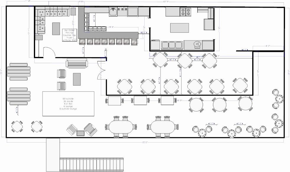 Restaurant Floor Plan Template Elegant Monkey Face Llc Roof top Restaurant Floor Plan Rented