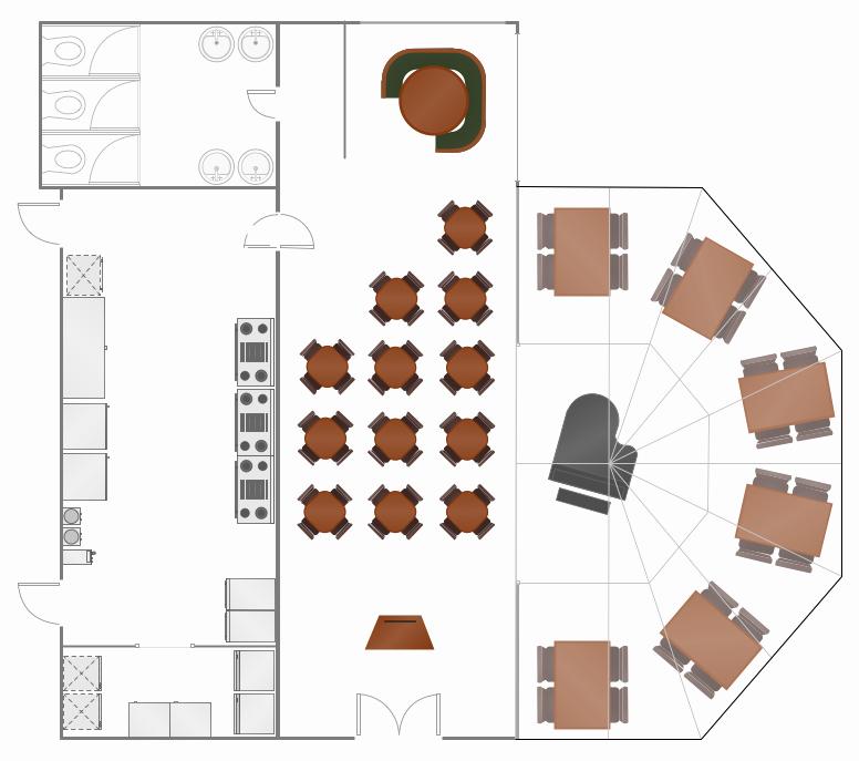 Restaurant Floor Plan Template Fresh Restaurant Layouts