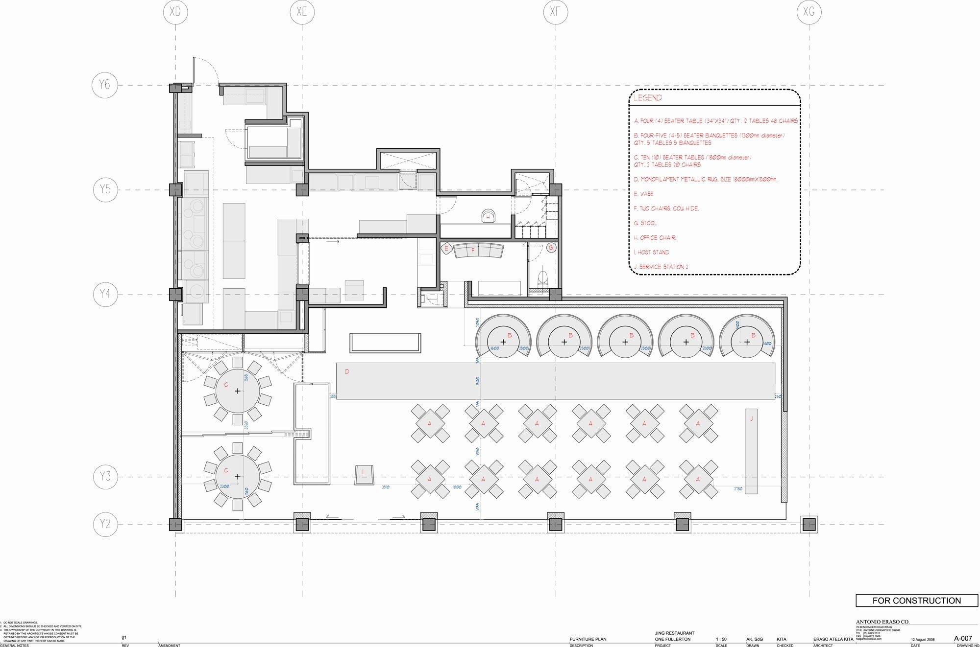 Restaurant Floor Plan Template Inspirational Jing Restaurant Antonio Eraso