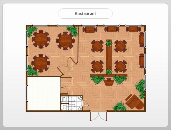 Restaurant Floor Plan Template Lovely Café Floor Plan Example