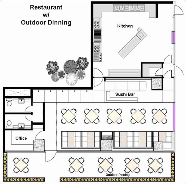 Restaurant Floor Plan Template Lovely Restaurant Design software