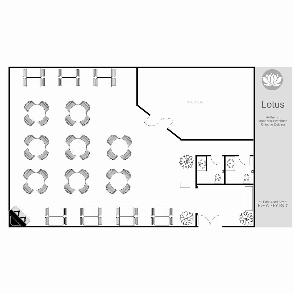 Restaurant Floor Plan Template Luxury Restaurant Layout