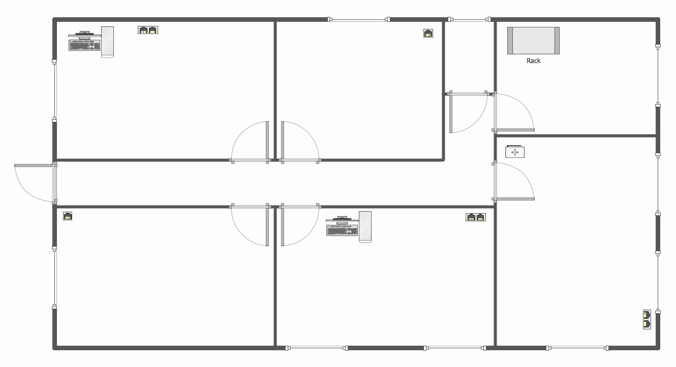 Restaurant Floor Plan Template New Network Layout Floor Plans solution