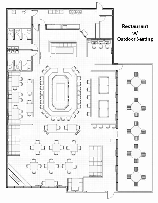 Restaurant Floor Plan Template Unique Restaurant Layouts