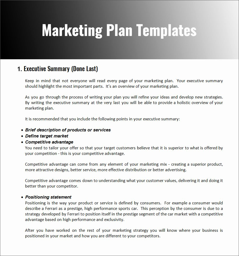 Restaurant Marketing Plan Template Elegant 32 Free Marketing Strategy Planning Template Pdf Ppt