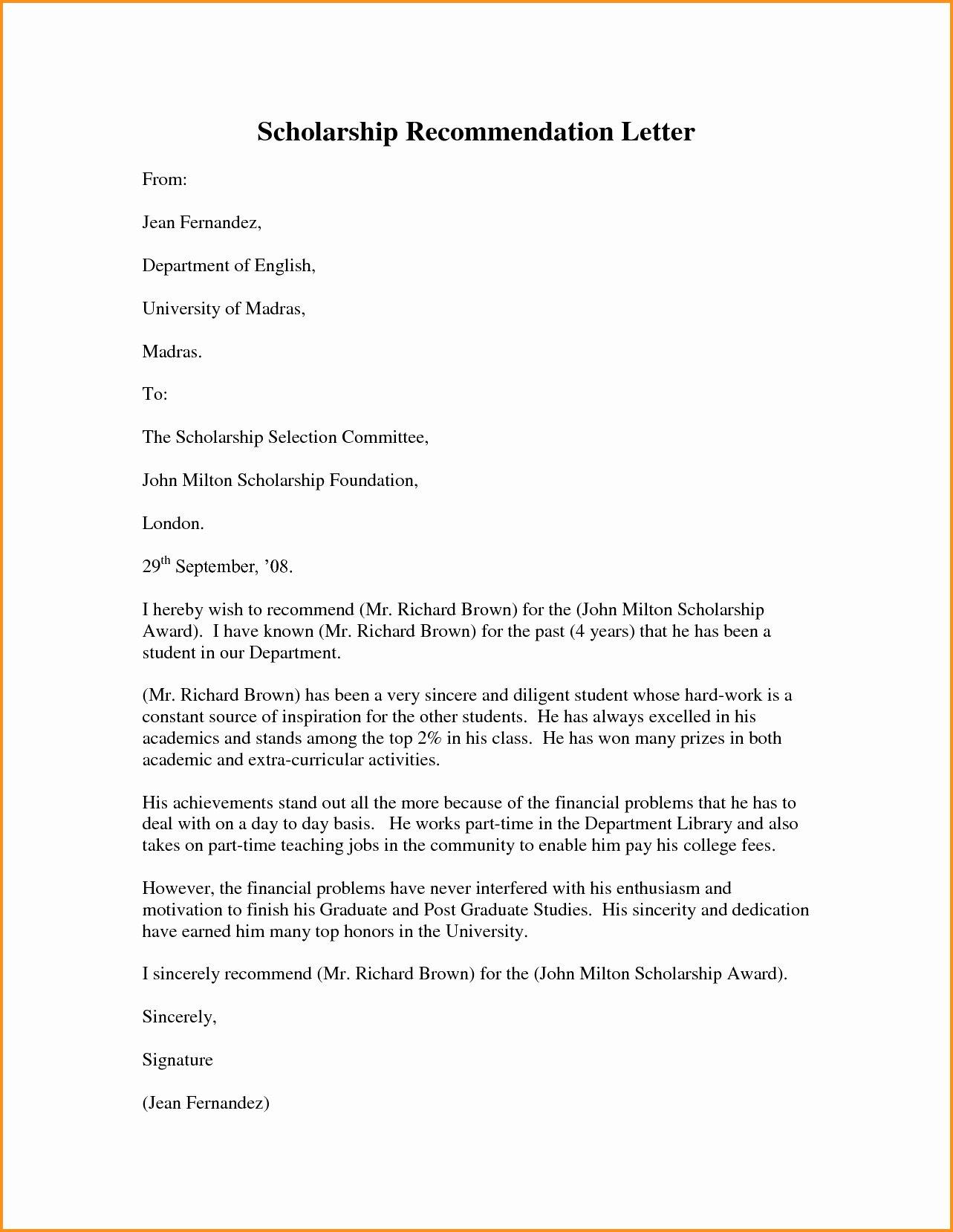 Resume for Letter Of Recommendation Luxury Pastor Re Mendation Letter