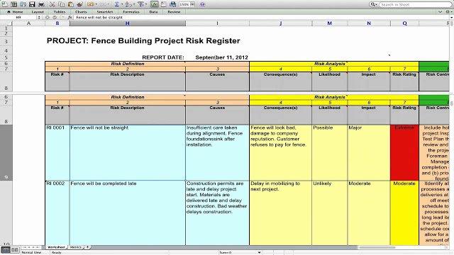 Risk Management Plan Template Doc Fresh Risk Management Plan Template Engineering Management