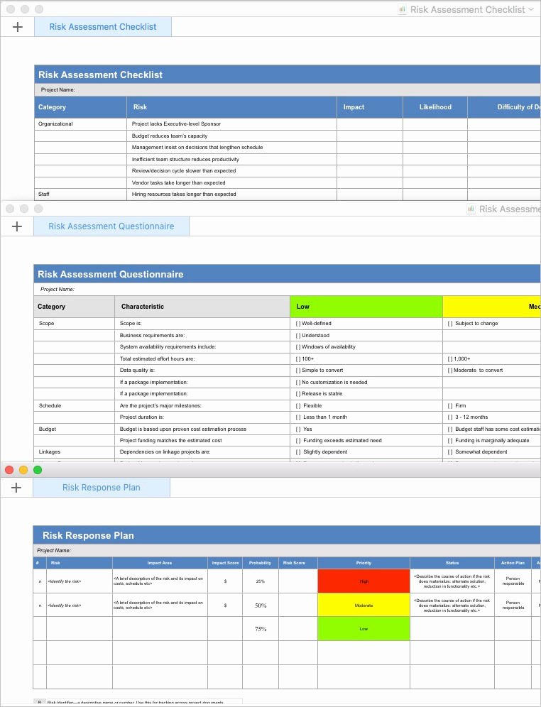 Risk Mitigation Plan Template Lovely Risk Management Plan Template Apple Iwork Pages Numbers