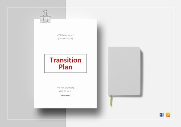 Role Transition Plan Template Lovely 7 Transition Plan Template Ai Psd Google Docs Apple