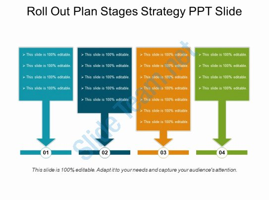 Roll Out Plan Template Luxury Roll Out Plan Stages Strategy Ppt Slide
