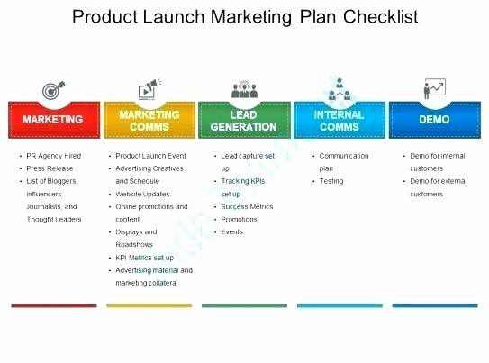 Roll Out Plan Template New Product Rollout Plan Template