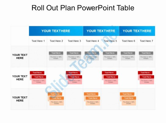 Roll Out Plan Template New Style Essentials 2 Pare 3 Piece Powerpoint