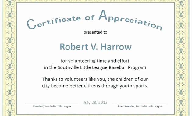 Rotary Certificate Of Appreciation Template Awesome Certificate Appreciation for Employees Blank Background