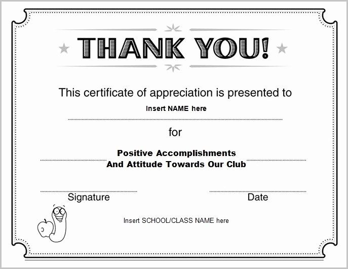 Rotary Certificate Of Appreciation Template Best Of Rotary Certificate Appreciation Template Templates 1