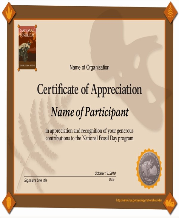 Rotary Certificate Of Appreciation Template Elegant Certificate Of Appreciation Sample Driverlayer Search Engine