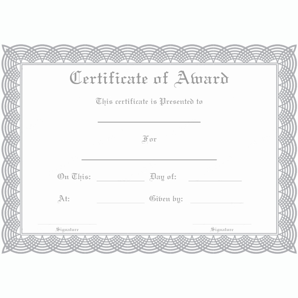 Rotary Certificate Of Appreciation Template Lovely Award Certificate 21 Word Layouts