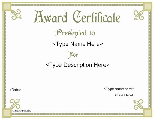 Rotary Certificate Of Appreciation Template Luxury Business Certificates Elegant Award Certificate Template
