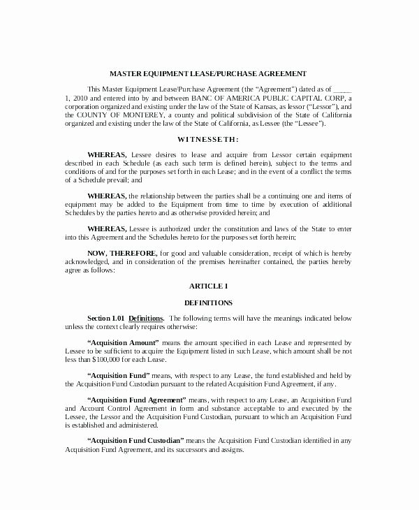 Rv Lease Purchase Agreement Inspirational Vehicle Purchase Agreement form Free Download Unique