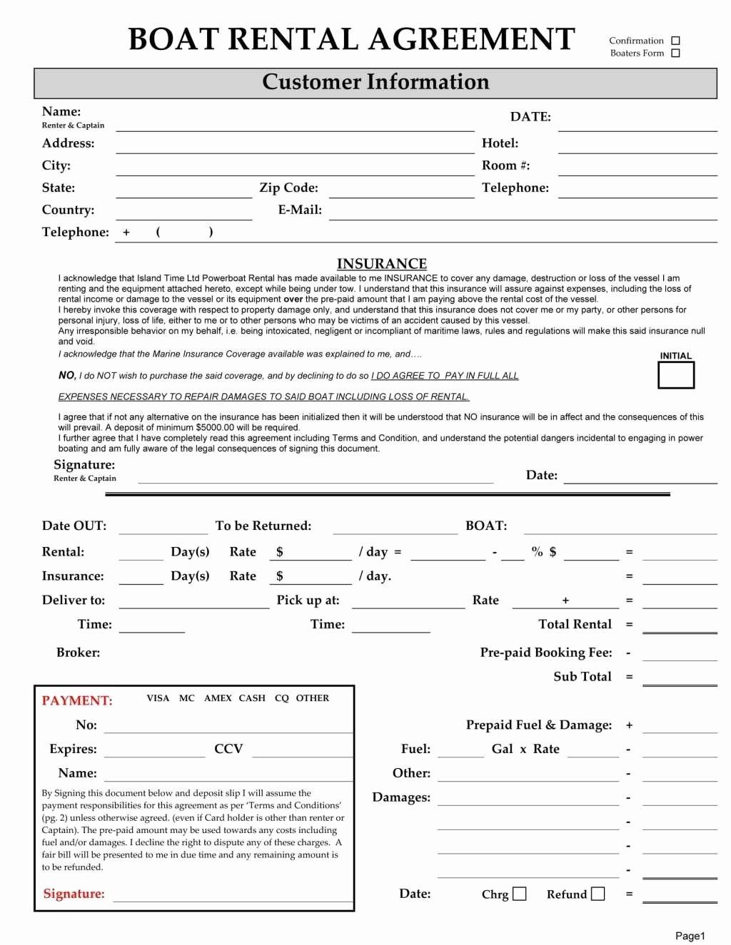 Rv Lease Purchase Agreement New 44 Advanced Pontoon Rental Agreement Bi – Goethecy