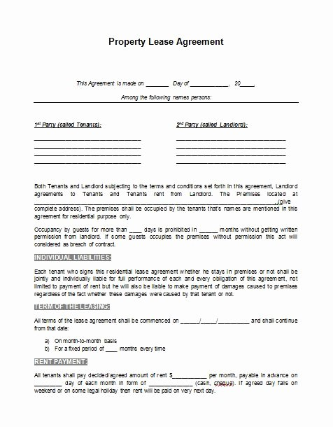 Rv Park Rental Agreement Lovely Perfect Property Rental Lease Template Agreement Example