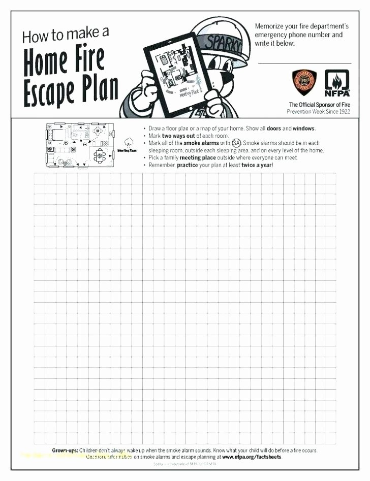 Safety Plan Template for Youth Best Of Family Fire Safety Plan Template Family Fire Safety Plan