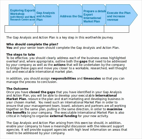Sales Action Plan Template Best Of Sample Sales Action Plan Template 7 Free Documents In