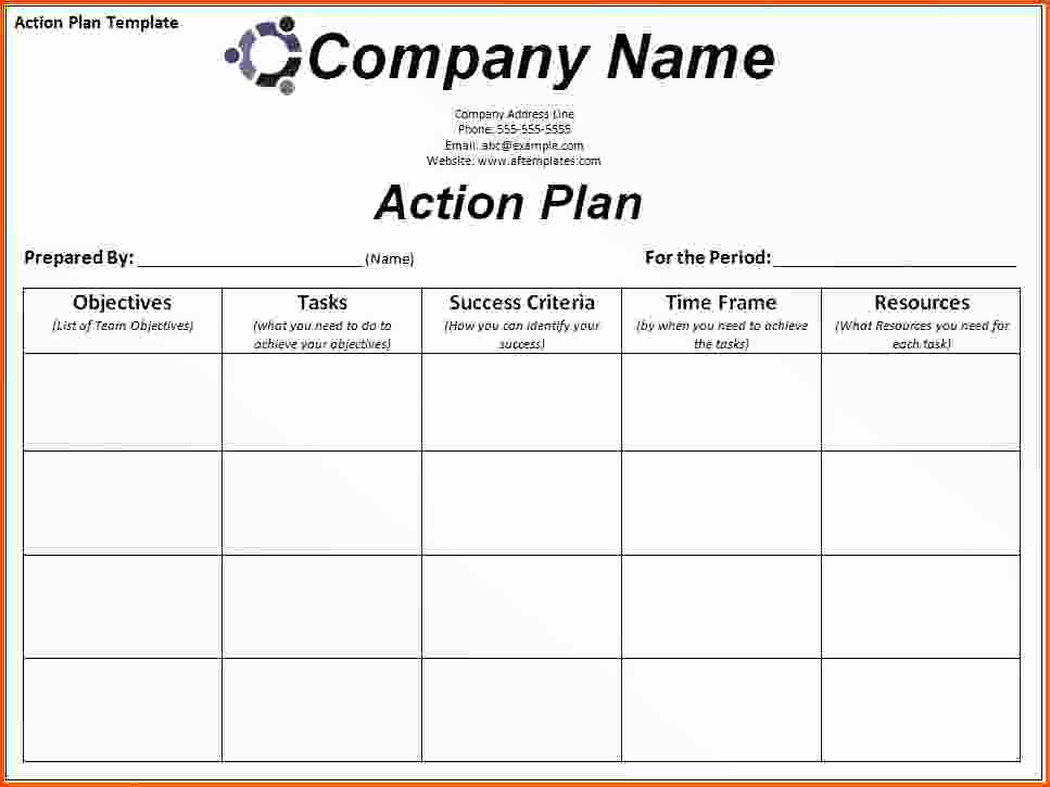 Sales Action Plan Template Fresh Sales Territory Plan Template