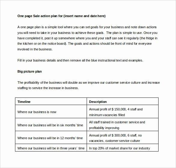 Sales Action Plan Template Inspirational 27 Sales Action Plan Templates Doc Pdf Ppt